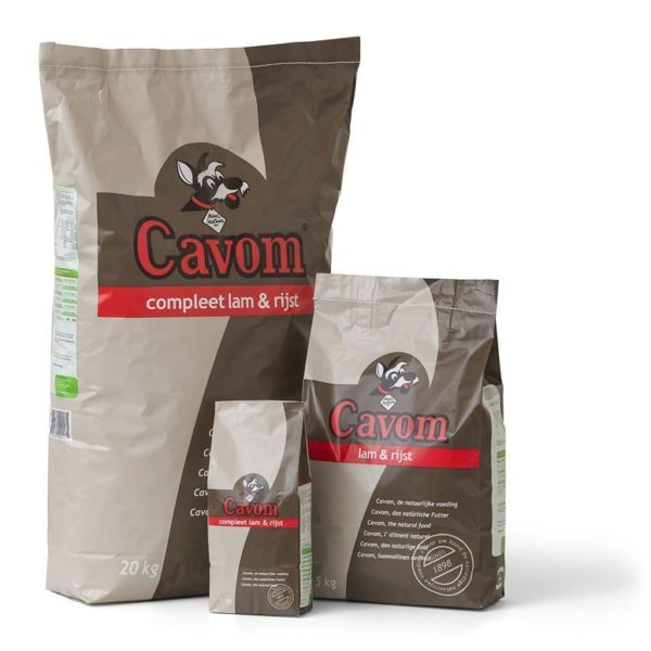 Cavom Compleet Lam & rijst